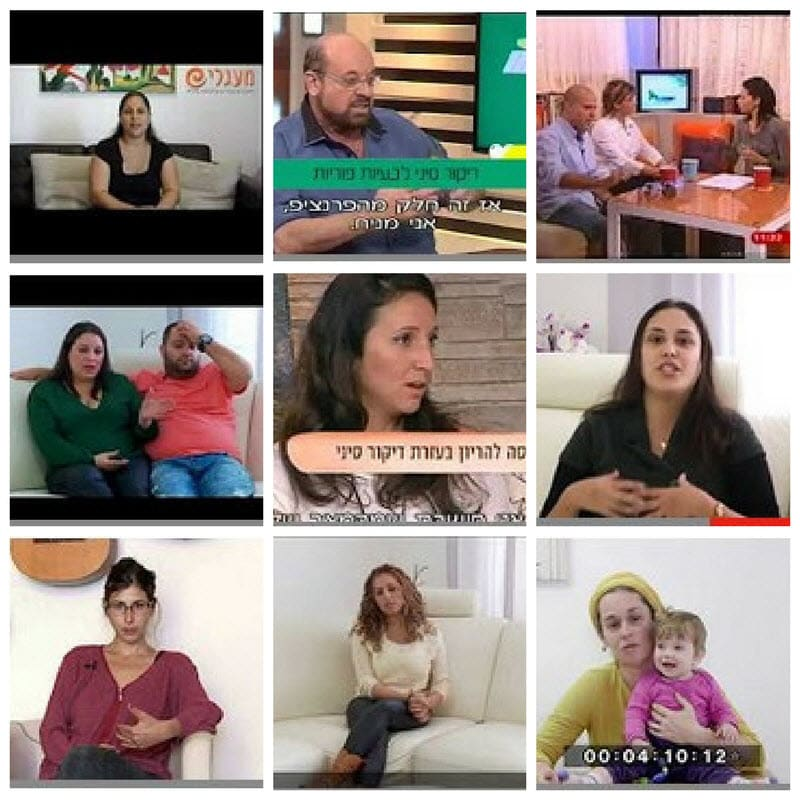 סרטוני וידיאו פוריות - הפלות חוזרות